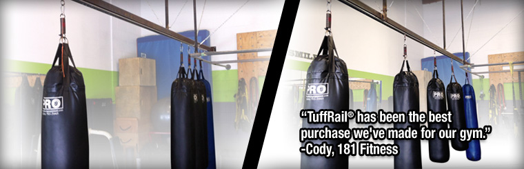 Tuffrail Com Heavy Bag Mounting Application And Cargo