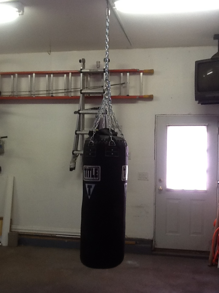 Tuffrail collection heavy bag overhead homes