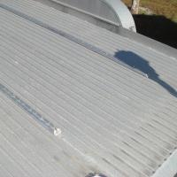 TuffRail General on aluminum flatbed trailer