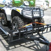 ATV's can also be rear-loaded if only two are being used.