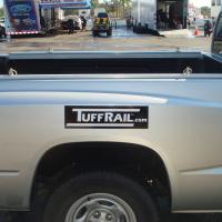 TuffRail Sticker on a Dodge Dakota