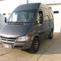 Dodge 2500 van with TuffRail™ installed